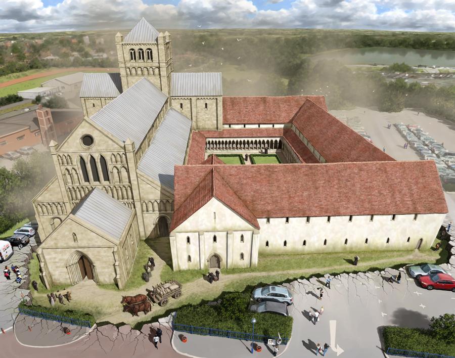 Newnham Priory by Pete Urmston