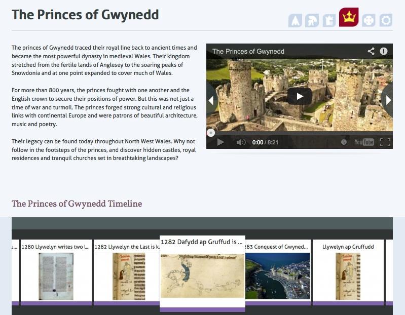 Princes of Gwynedd website
